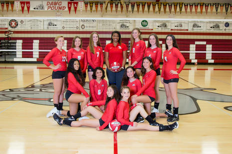 San Rafael JV Volleyball 2018