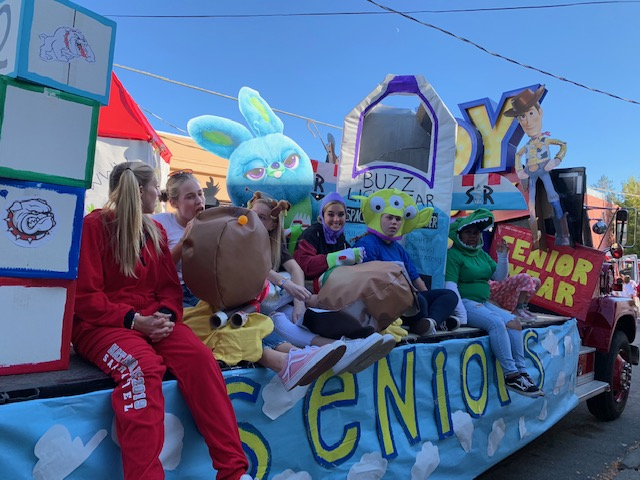 Toy Story Float with Senior Class