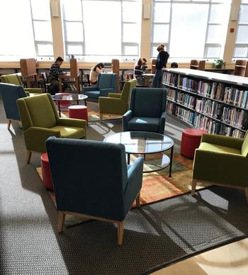 Library Reading Lounge