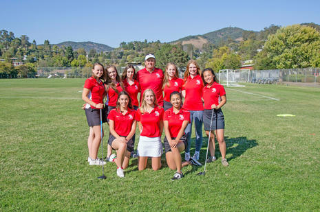San Rafael Girls Golf 2018